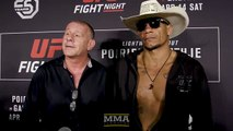 Alex Oliveira Says Carlos Condit Went to Sleep, Woke Up Before Tapping to Choke - MMA Fighting