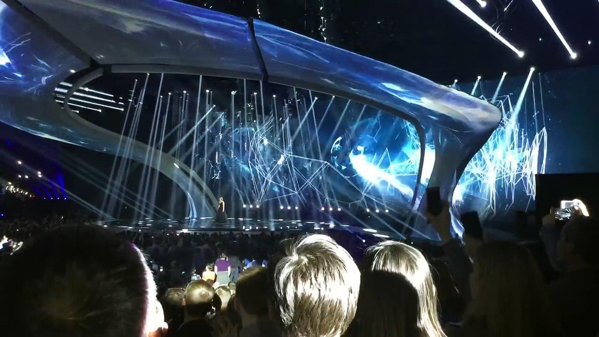 Blanche - City Lights (Belgium) Eurovision 2017 1 Semi-Final Live