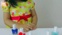 Safe Nail Polish by SNAILS - DEMO by Elise | Playtime with Elise | Kids Play OClock Toy Review
