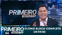 Último bloco do Primeiro Impacto (24/05/18) com Marcão do Povo (Com dança do galo) | SBT 2018