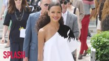 Thandie Newton needed a moment on Solo set