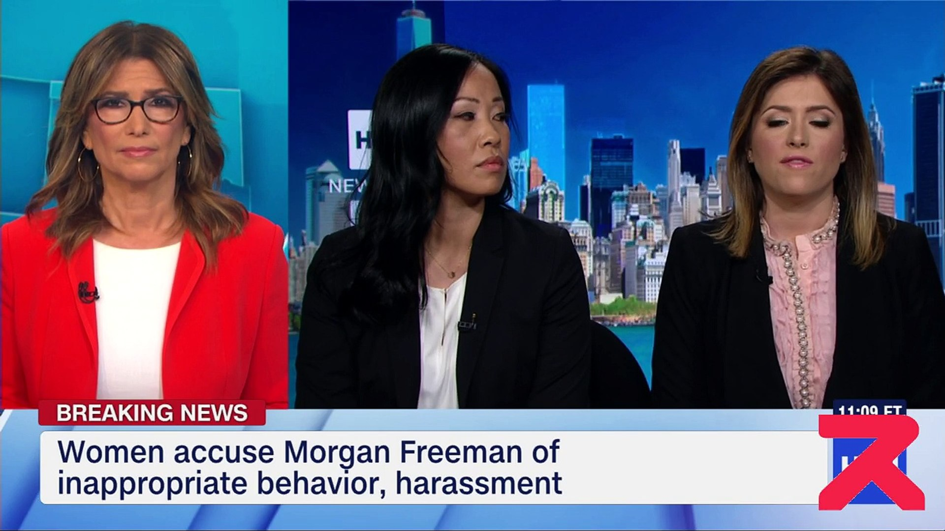 8 women accuse prominent actor Morgan Freeman of harassment and inappropriate behaviour