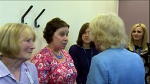 The Duchess of Cornwall visits Gloucestershire Royal Hospital