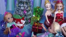 new CHRISTMAS Gifts ! ELSA, ANNA toddlers open the Christmas presents! Cool toys!