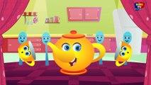Je suis une petite théière - Comptine - chanson pour enfants - Rhyme For Kids - I am a Little Teapot