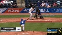 Duke vs. Wake Forest ACC Baseball Championship Highlights (2018)