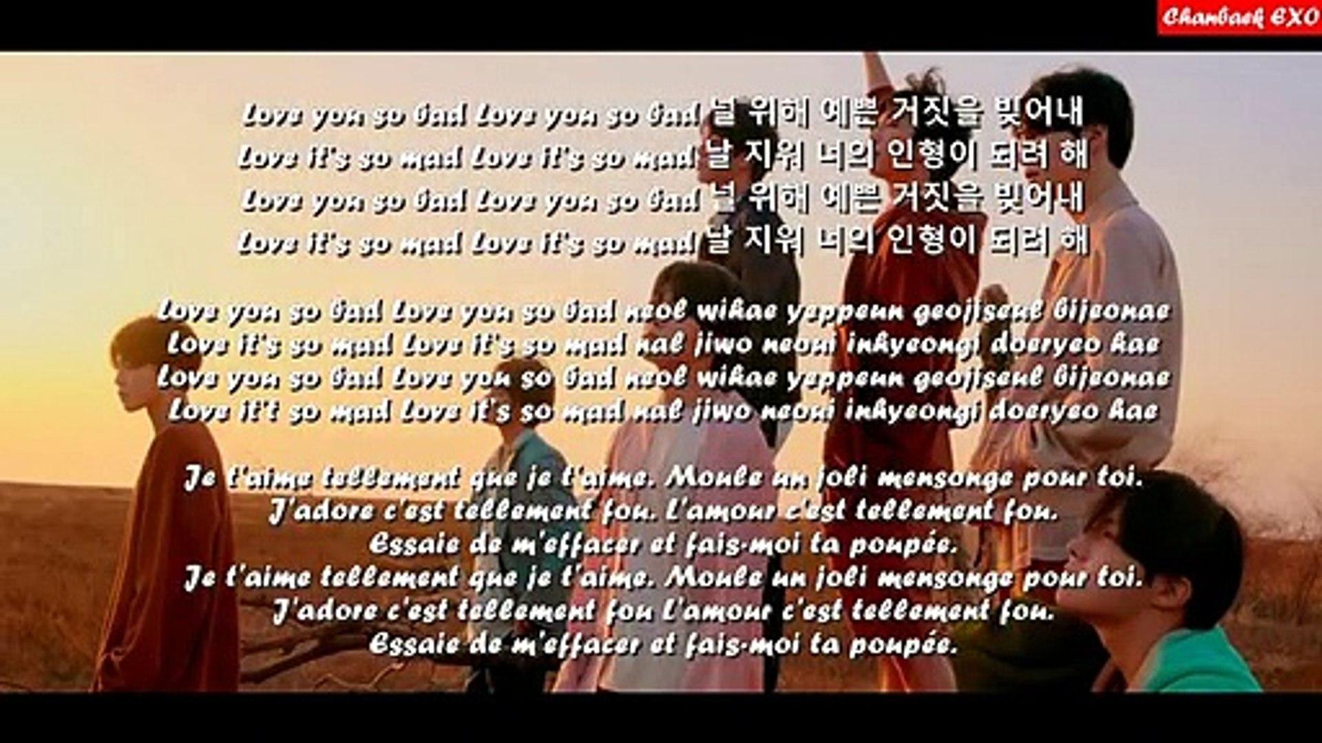 BTS - Fake Love - LYRICS - (Han-Rom-Vostfr)