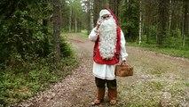 Babbo Natale & super-licheni di renne di Santa Claus in Lapponia Finlandia - Rovaniemi bambini