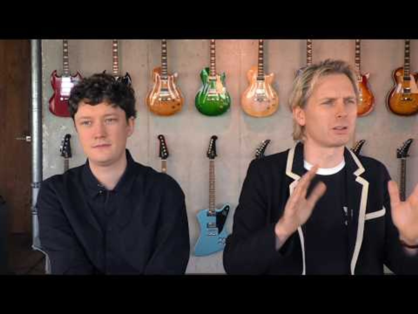 Franz Ferdinand interview - Alex Kapranos & Julian Corrie (part 2)