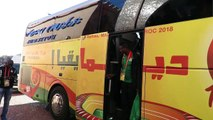 ZAMBIA ARRIVE IN MARRAKECHThe Chipolopolo boys returned to their fortress in Marrakech ahead of Saturday's quarterfinal against Sudan.Zambia has returned to