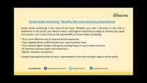 Social media marketing solutions: Delivering successful campaigns