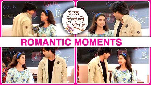 Sameer And Nanina ROMANTIC MOMENTS While Dance Practise | Yeh Un DInon Ki Baat Hai