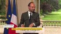 """Edouard Philippe confirme que  """"l'État reprendra 35 milliards d'euros de dette de la SNCF durant le quinquennat : 25 milliards en 2020 et 10 milliards supplémentaires en 2022. Elle sera à l'équilibre en 2022"""""""