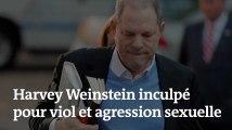 Vidéo : Harvey Weinstein inculpé pour viol et agression sexuelle