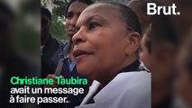 """Esclavage : """"Nous qui sommes libres, nous avons une capacité à nous battrepour protéger tout ceux qui sont confrontés à ce fléau"""", dit Taubira"""