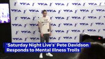 'SNL's' Pete Davidson Opens up About Dating with Mental Illness