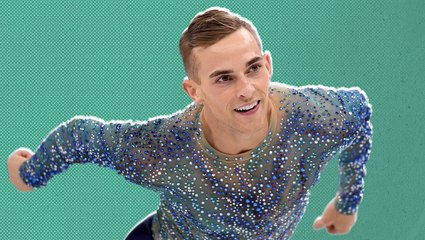 Adam Rippon explains why he didn't have a male partner on 'Dancing with the Stars'