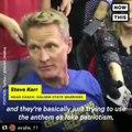 Golden State Warriors Head Coach Steve Kerr Speaks On NFL's Anthem Policy