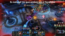 Batallas de League Of Legends Contra El Universo Graves Vs McCree