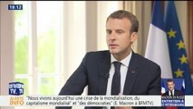 """Poutine sur le MH17: """"Il n'y a pas de malaise"""", soutient Emmanuel Macron"""