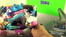 Whats Inside the $2.00 Yard Sale MYSTERY BOX of TOYS? Huge Toy Haul Unboxing by Bins Toy Bin!