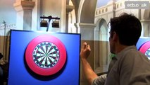 Behind the scenes Alastair Cook v James Anderson cricket meets darts