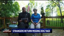 Indiana Family Receives Uncle's WWII Dog Tag from Strangers in France