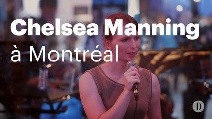Chelsea Manning à C2 Montréal