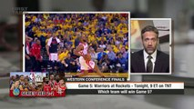 First Take makes predictions for Warriors vs. Rockets Game 5 - First Take - ESPN