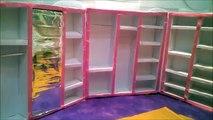 Como fazer um Super Guarda Roupa/Closet para Barbie - parte 2