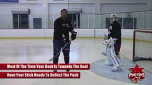 Dustin Byfuglien : How to Tip A Puck