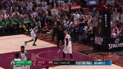 LeBron James'ten Celtics'e karşı 46 sayı, 11 ribaund, 9 asist, 3 top çalma