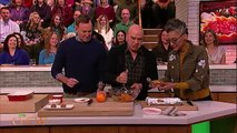 The Chew Makes Yam Balls Recipe from Scandals Guillermo Diaz