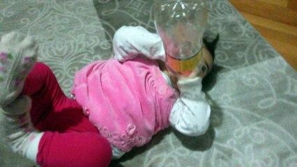 Kızım Hatice İclal'in dişiyle imtihanı :)