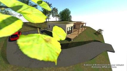 Construction modulaire préfabriquée en béton banché habitat pratique durable économique & écologique