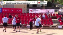 Premières parties, première phase M1, 106èmes Tournois Boulistes de Pentecôte, Lyon 2018