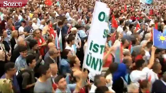 Meral Akşener'den Erdoğan taklidi