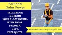Affordable Solar Energy Portland OR - Portland Solar Energy Costs