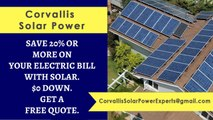Affordable Solar Energy Corvallis OR - Corvallis Solar Energy Costs