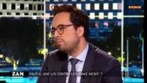 Zemmour dénonce le projet de loi anti-FakeNews de Macron