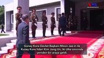 Kuzey Kore ve Güney Kore Liderleri Yeniden Sınırda