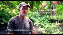 #FaaHotu 100% Fenua  Apataroma a 65 ans. Il a décidé de revenir chez lui, à Ua Pou, car il y a tout ce qu'il faut pour vivre. Il cultive des agrumes, élève de