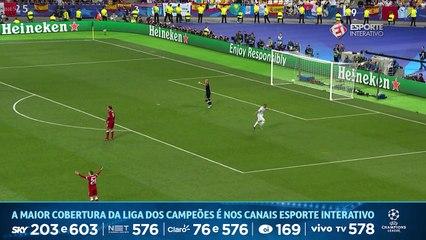 GOL DO REAL MADRID! Benzema abre o placar na Final da Champions com um gol BIZARRO!