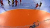 Quelques belles actions du match Martigues Handball Chambéry