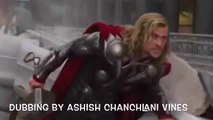 AVENGERS DUBBING BY ASHISH CHANCHLANI VINES