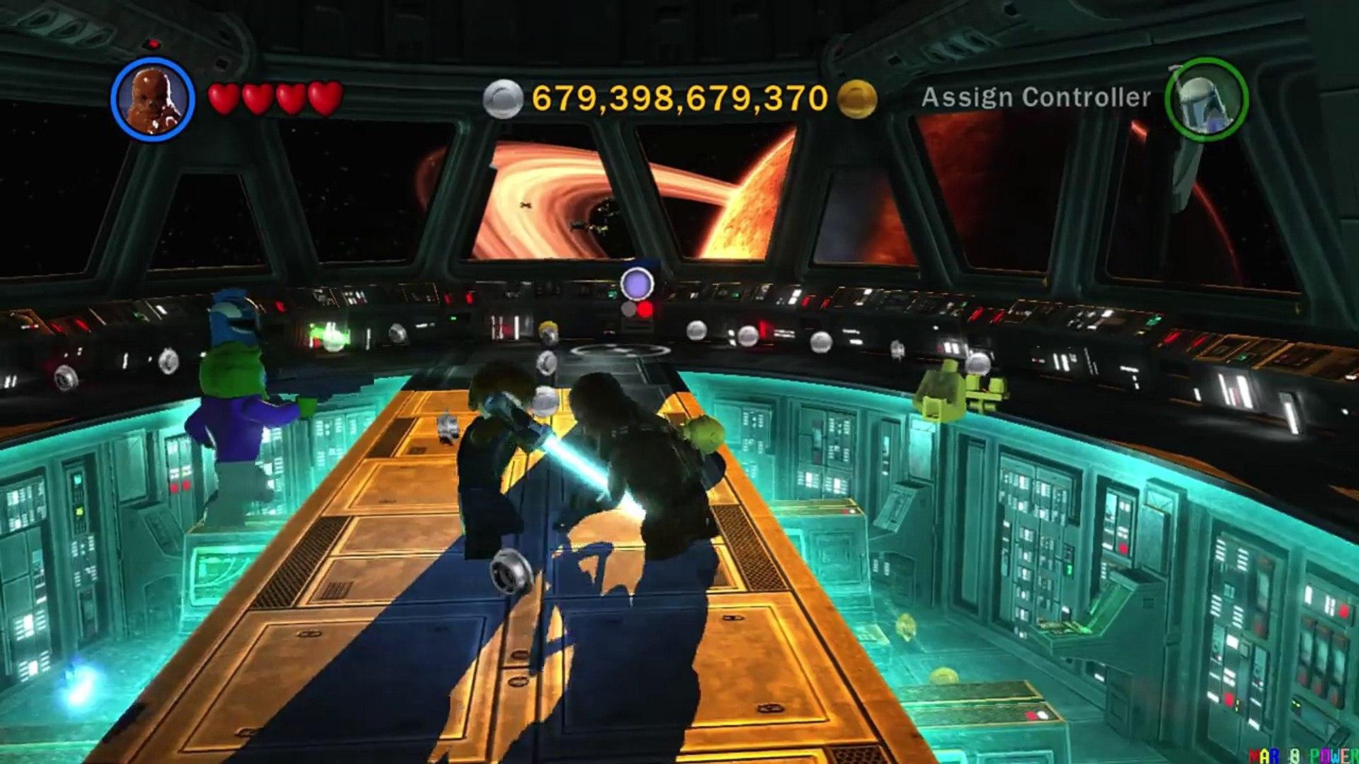 Chewbacca Evolution In Lego Star Wars Videogames