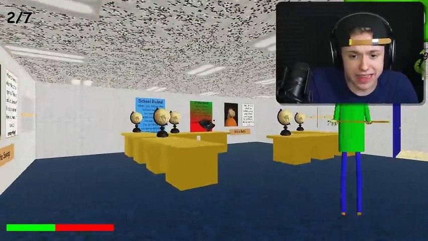 Baldi S Basics Horror Math Game Dailymotion Video