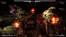 Mortal Kombat XL Gameplay Kitana Arcade Playstation 4 PS4 2018