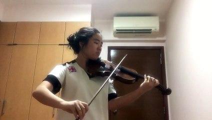 Bach Sonata No 1 Adagio - by Naomi Abia