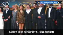 Marion Cotillard in Sink or Swim at Cannes Film Festival 2018 Day 6 Part 5 | FashionTV | FTV